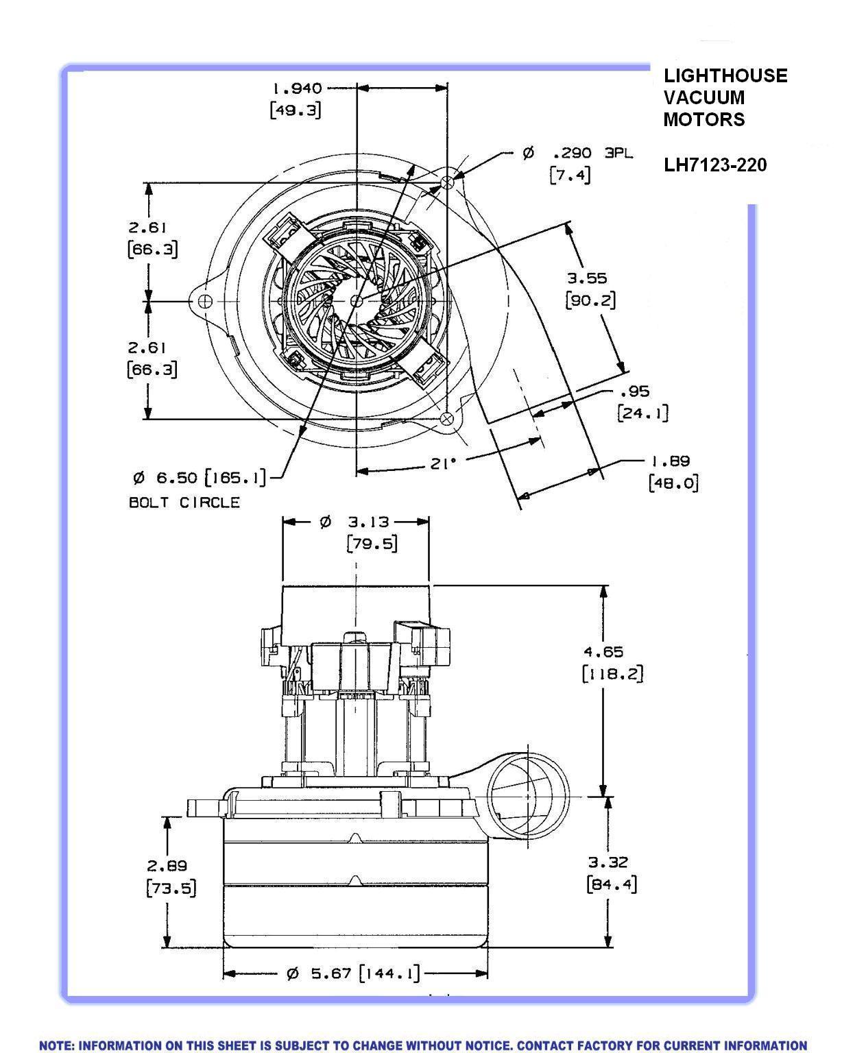 vacuum cleaner motor wiring diagram swift electrical schemes Motor Data Sheet