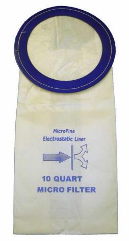 PVR-1410 Proteam Back Pack Vacuum Cleaner 10QT Mega Vac Bags